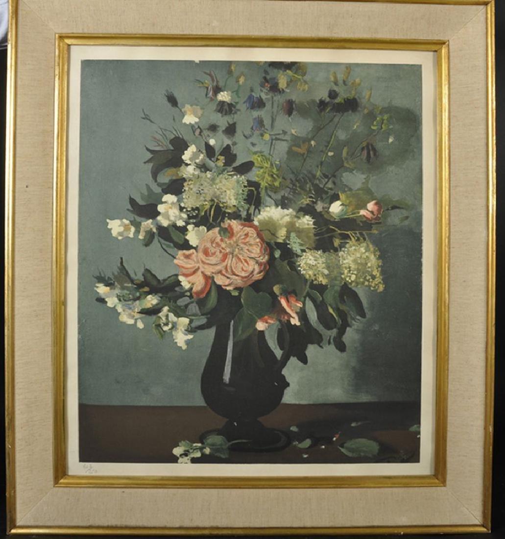 """Andre Derain (1880-1954) French. """"Vase de Fleurs"""", - 2"""