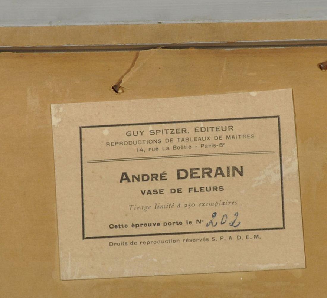 """Andre Derain (1880-1954) French. """"Vase de Fleurs"""", - 4"""