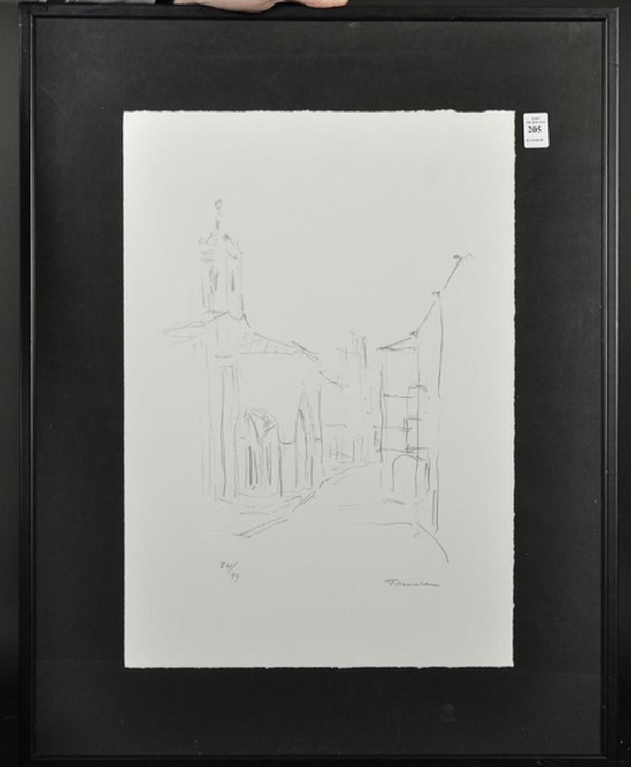 20th Century Spanish School. A Street Scene, - 2