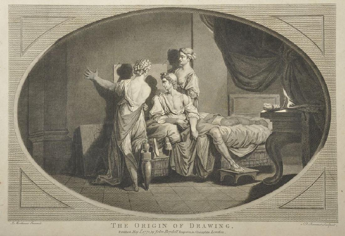 Simon Francois Ravenet (1706-1774) French after John