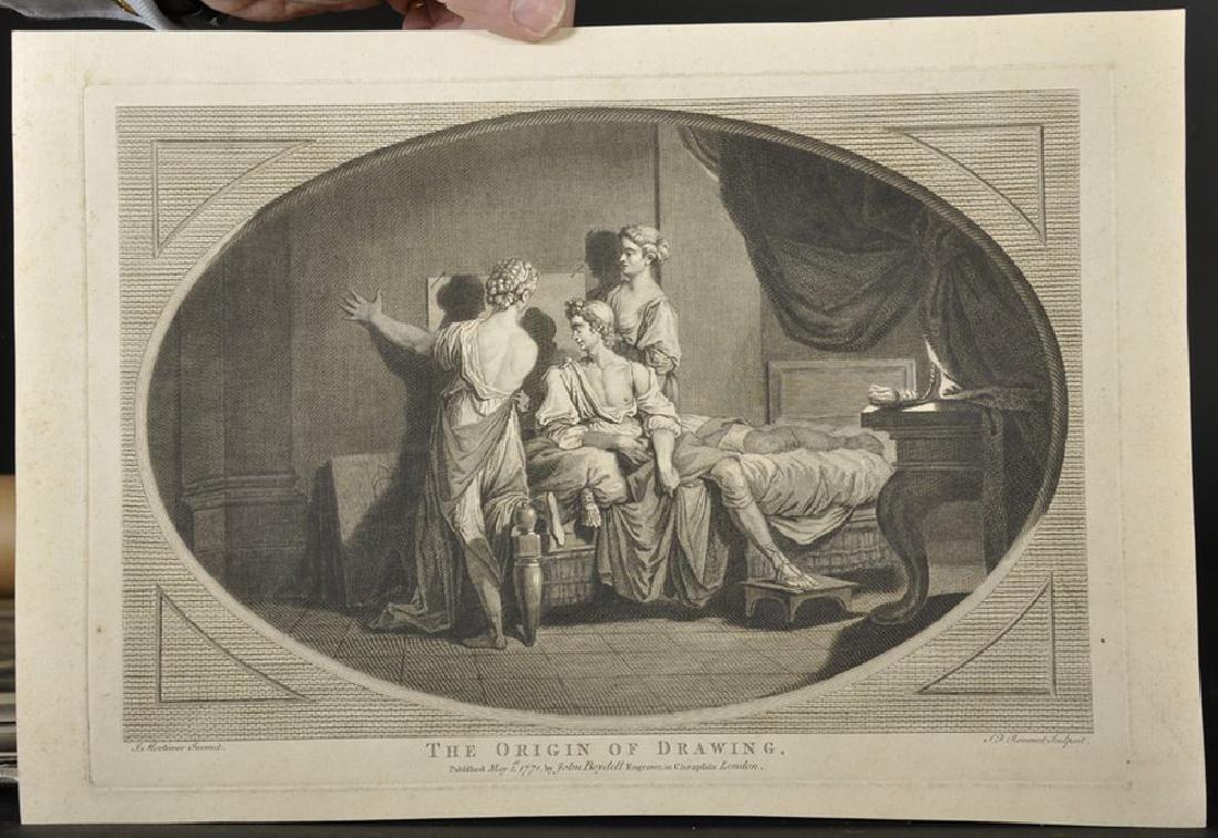 Simon Francois Ravenet (1706-1774) French after John - 2