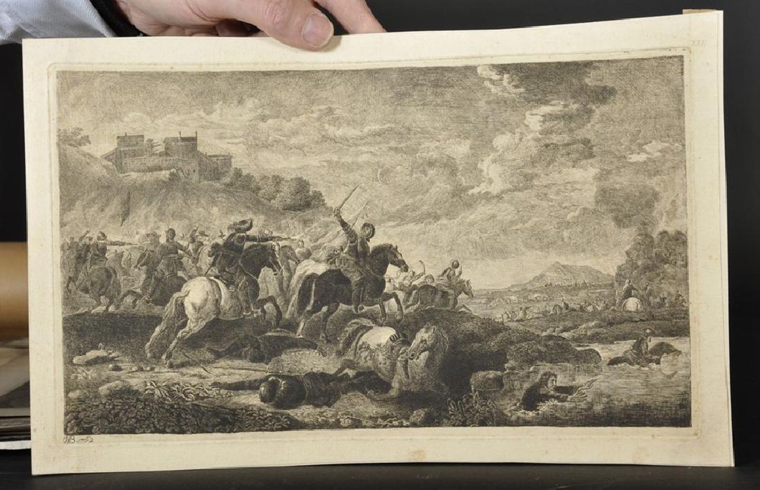 Simon Francois Ravenet (1706-1774) French after John - 3