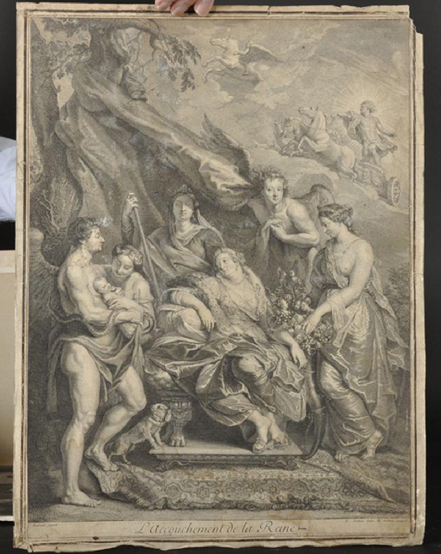 Simon Francois Ravenet (1706-1774) French after John - 5