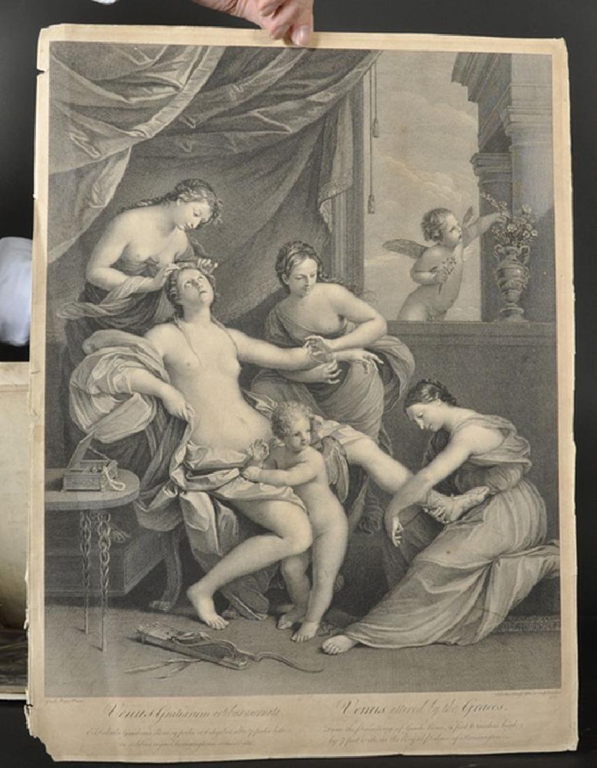 Simon Francois Ravenet (1706-1774) French after John - 6