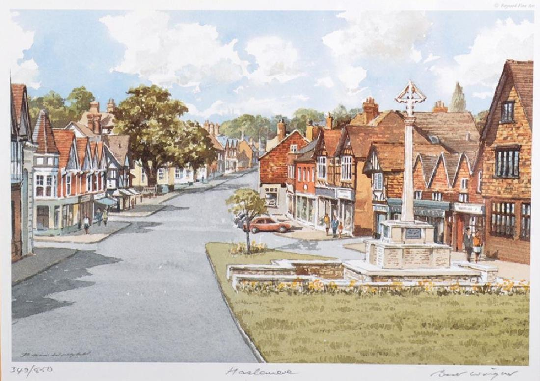 Bert Wright (1930-    ) British. 'Haslemere', with the