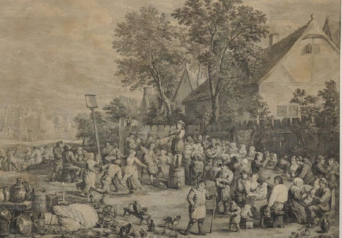 After David Teniers (1610-1690) Dutch. A Village Feast,