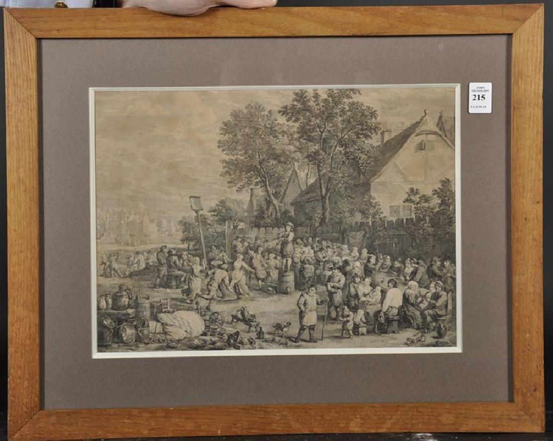 After David Teniers (1610-1690) Dutch. A Village Feast, - 2