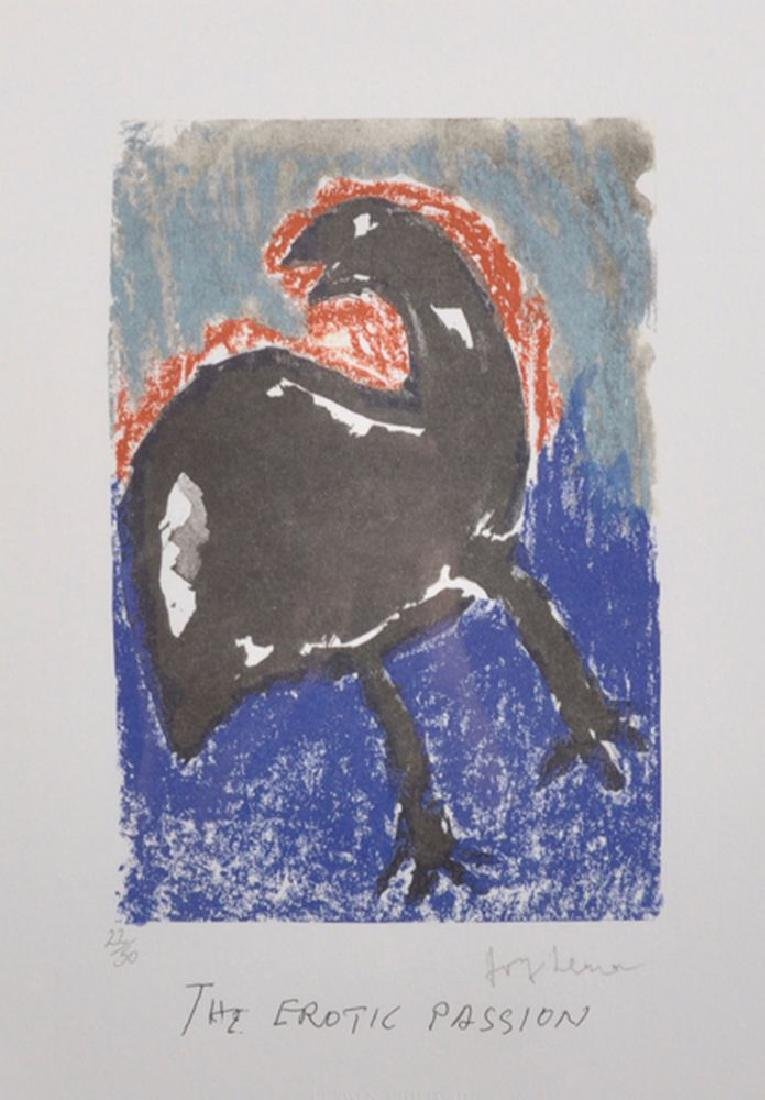 "Josef Herman (1911-2000) Polish/British. ""The Erotic"