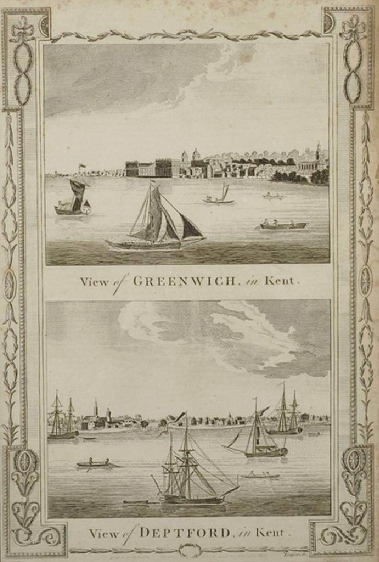 "19th Century English School. ""View of Greenwich in"