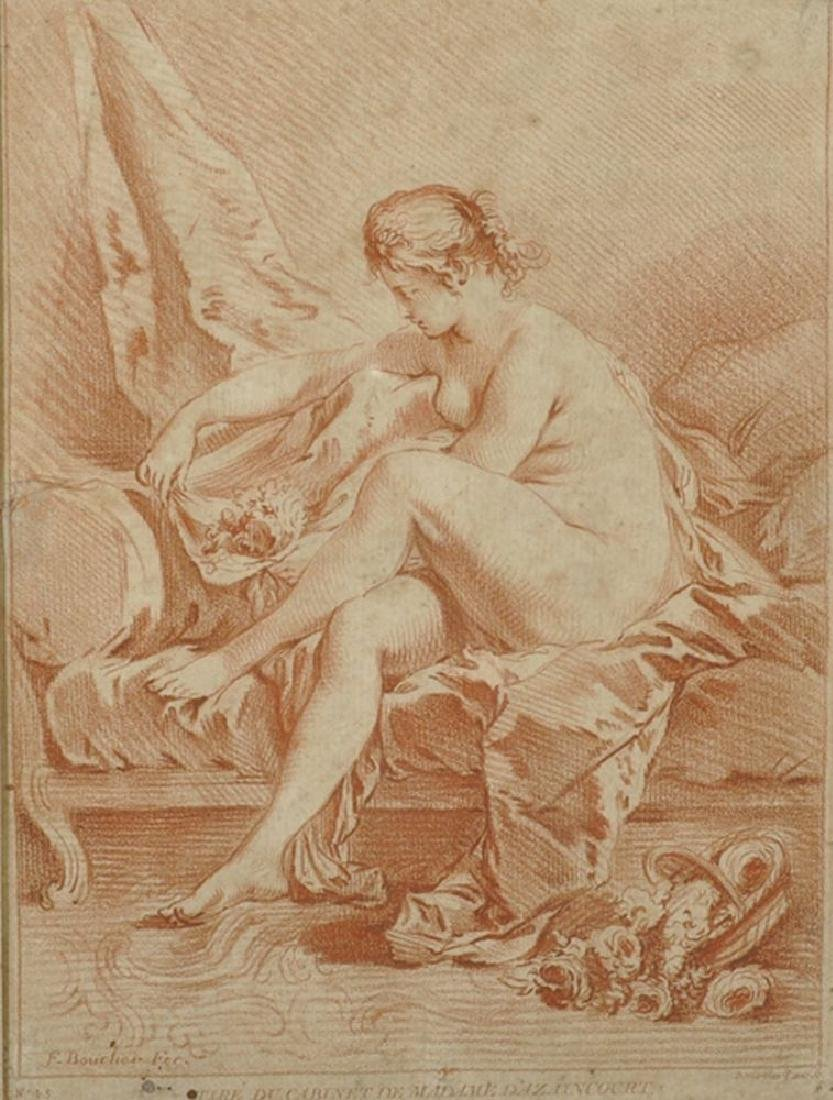 "After Francois Boucher (1703-1770) French. ""Tire du"