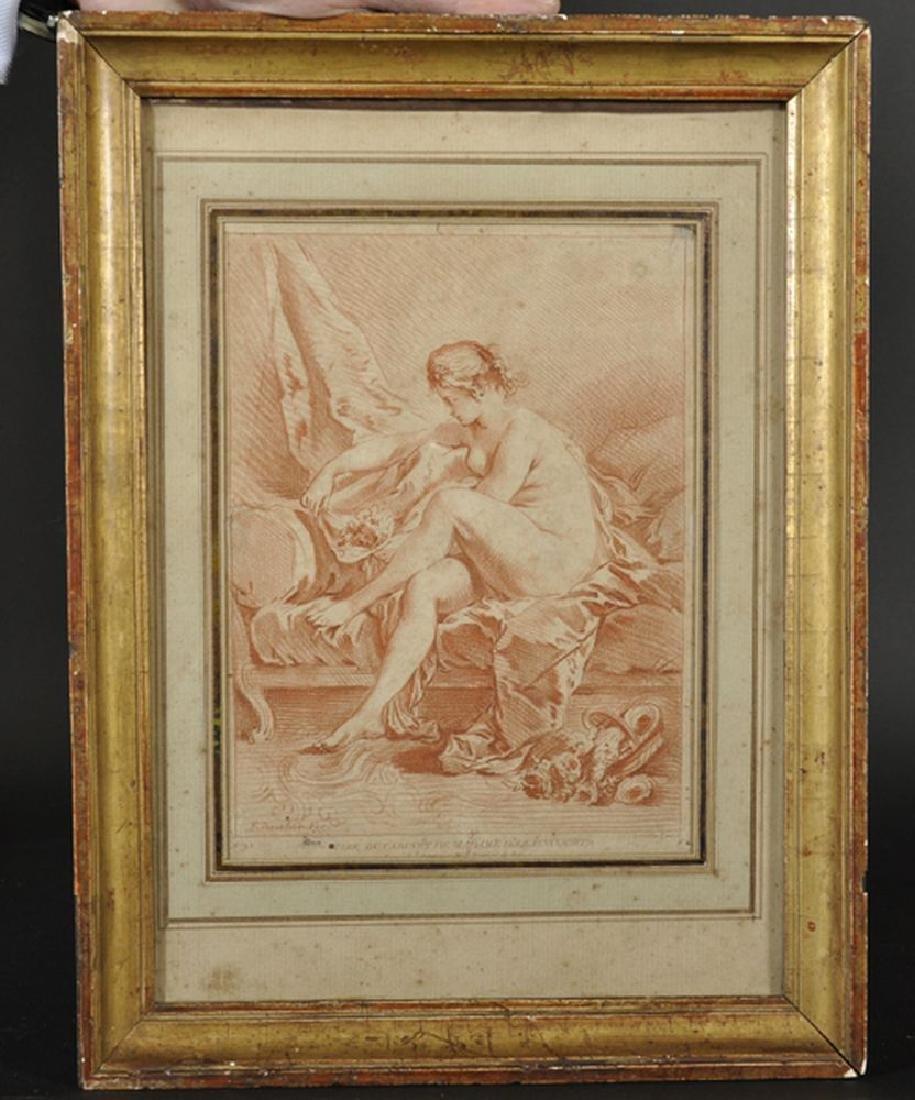 "After Francois Boucher (1703-1770) French. ""Tire du - 2"
