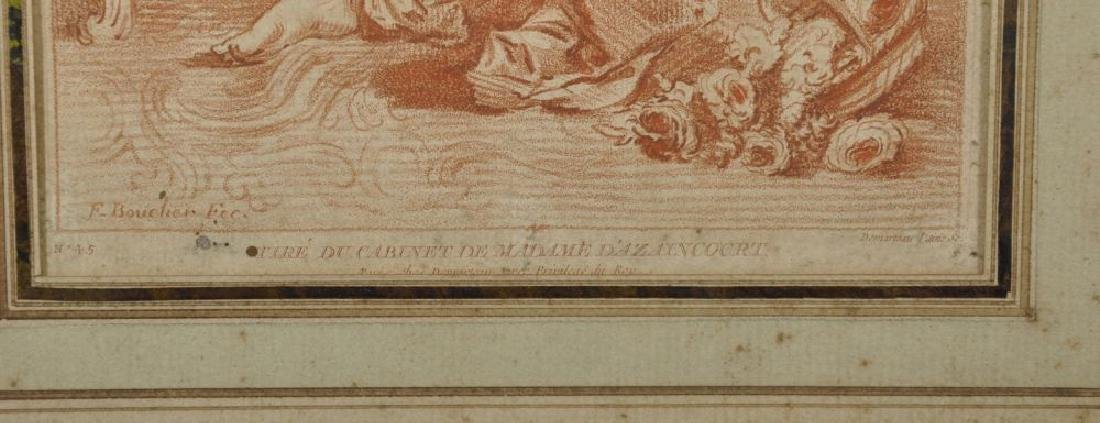 "After Francois Boucher (1703-1770) French. ""Tire du - 3"