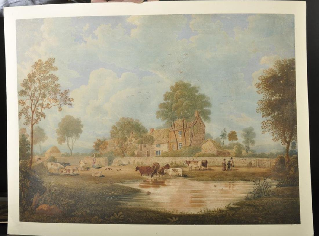 19th Century English School. Cattle Watering in a - 2