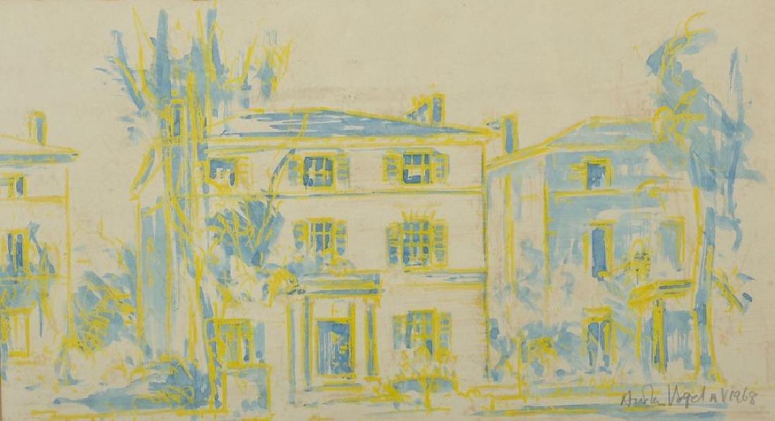 Austen Vogel (20th Century) European.  A London