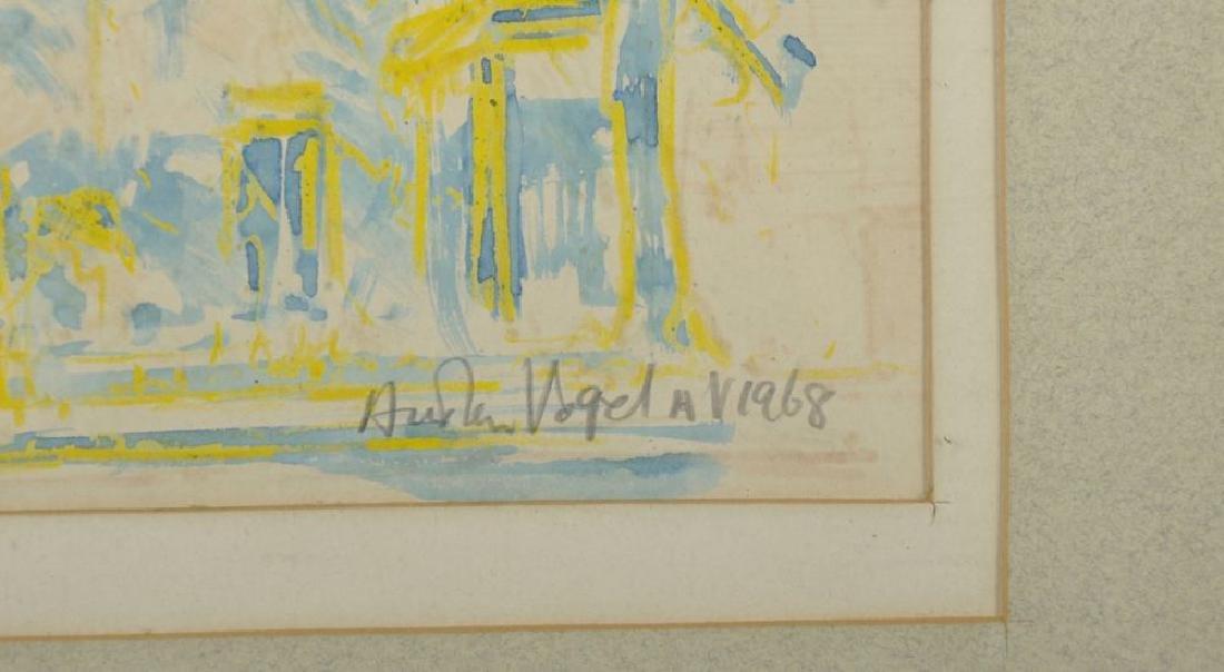 Austen Vogel (20th Century) European.  A London - 3