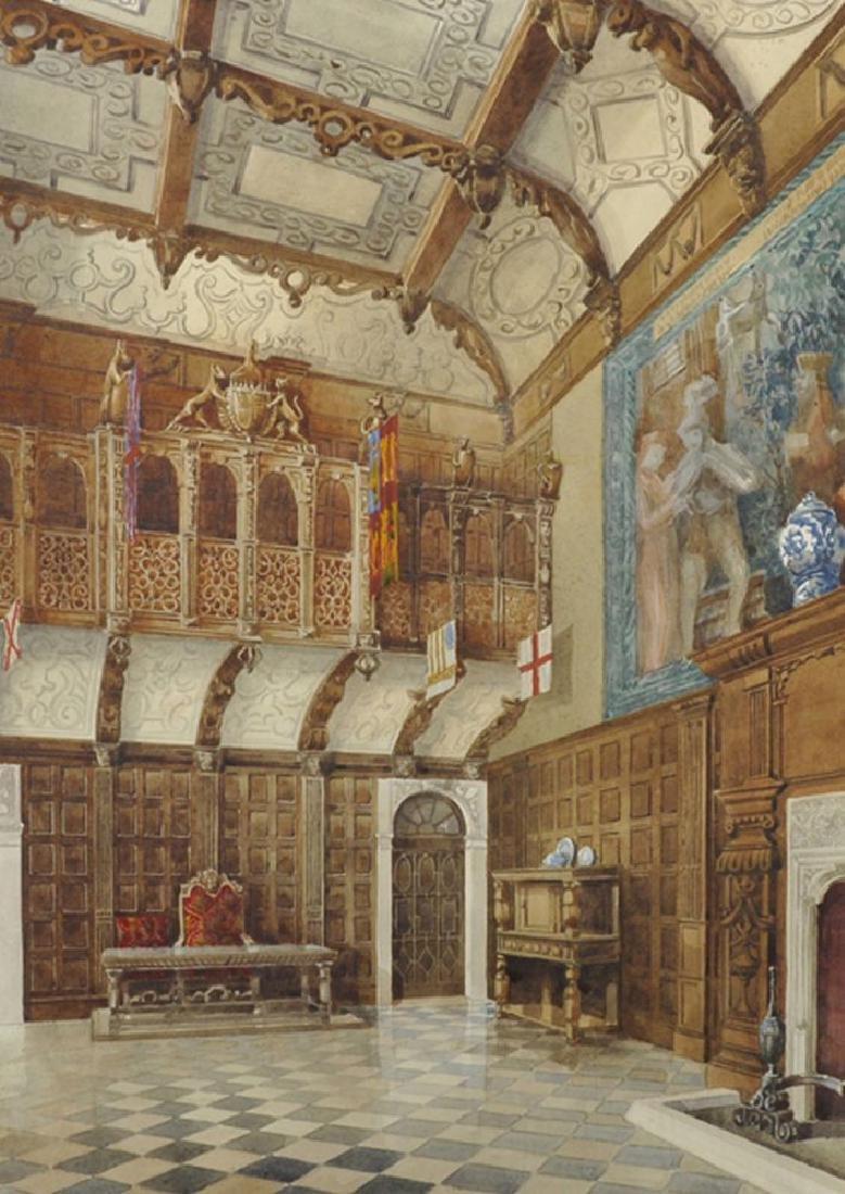 Septimus Derry Parkhouse (19th - 20th Century) British.