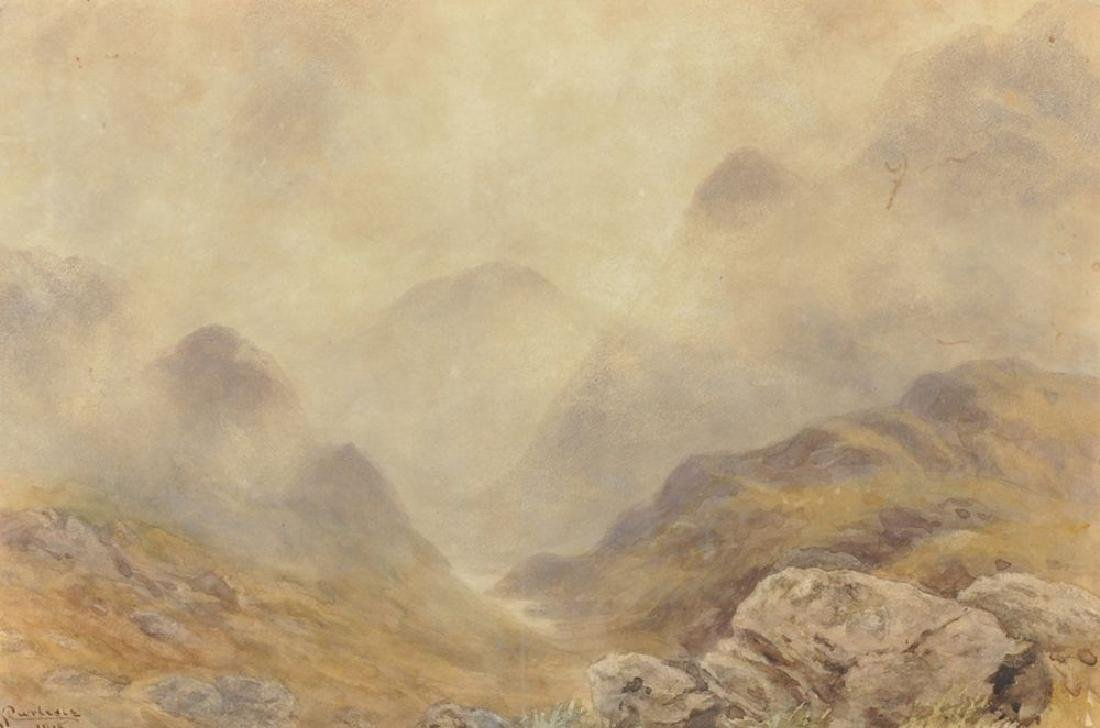 John Carlisle (act.1866-1916) British. A Mountainous