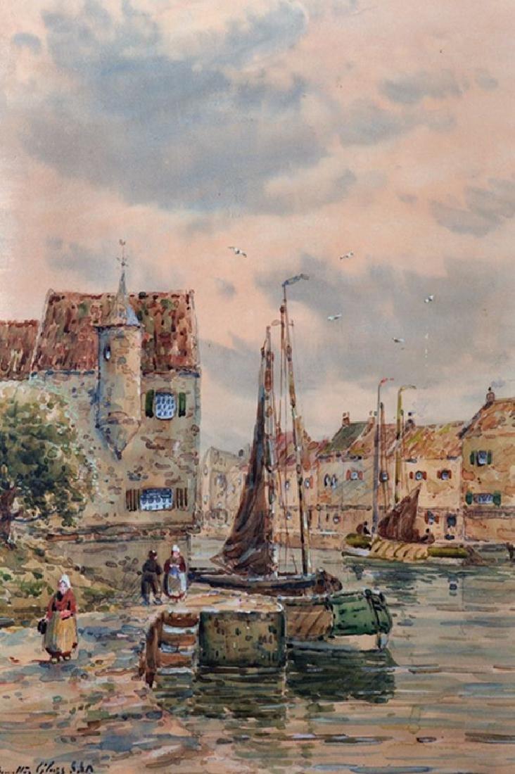 John Hamilton Glass (act.1890-1925) British. A Dutch