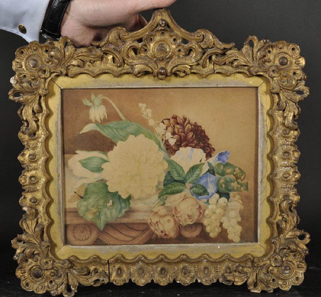 19th Century English School. Still Life with Flowers - 2