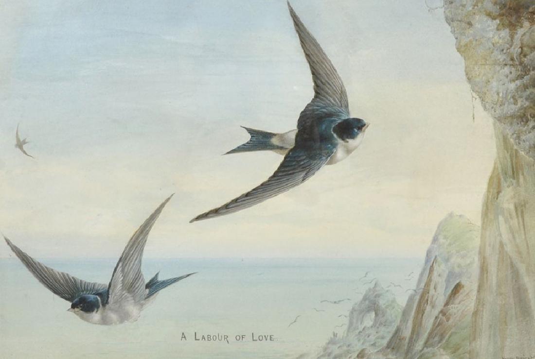 "Harry Bright (1846-1895) British. ""A Labour of Love"","