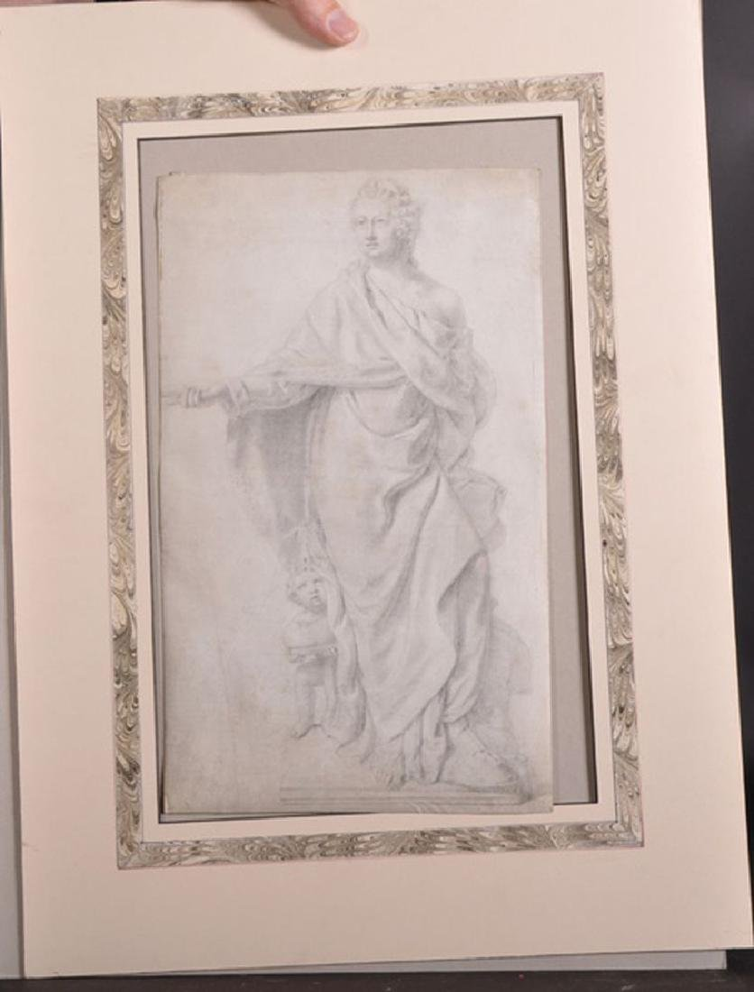 18th Century European School. Study of a Statue, with a - 2