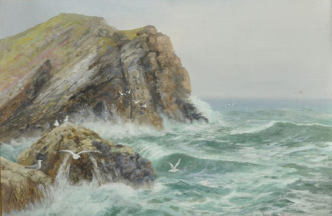 Reginald Daniel Sherrin (1891-1971) British. A Stormy