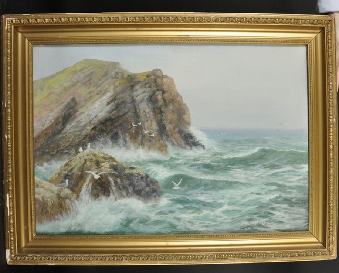 Reginald Daniel Sherrin (1891-1971) British. A Stormy - 2
