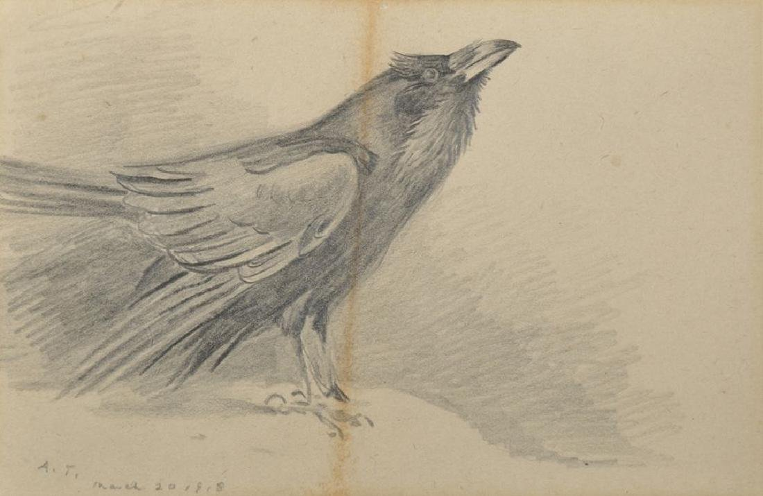 Archibald Thorburn (1860-1935) British. Study of a