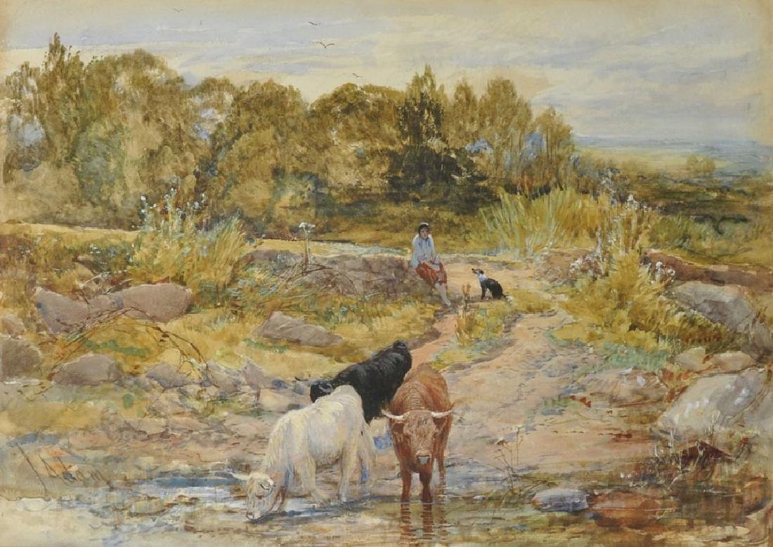 Joseph Denovan Adam (c.1870-n1935) British. Highland