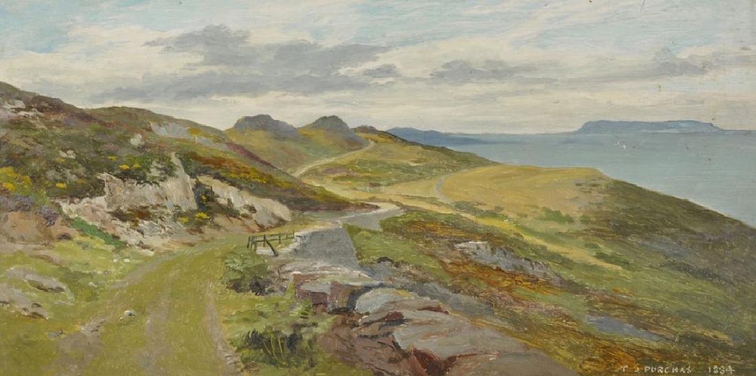 "Thomas James Purchas (act.1879-1891) British. ""Bray"