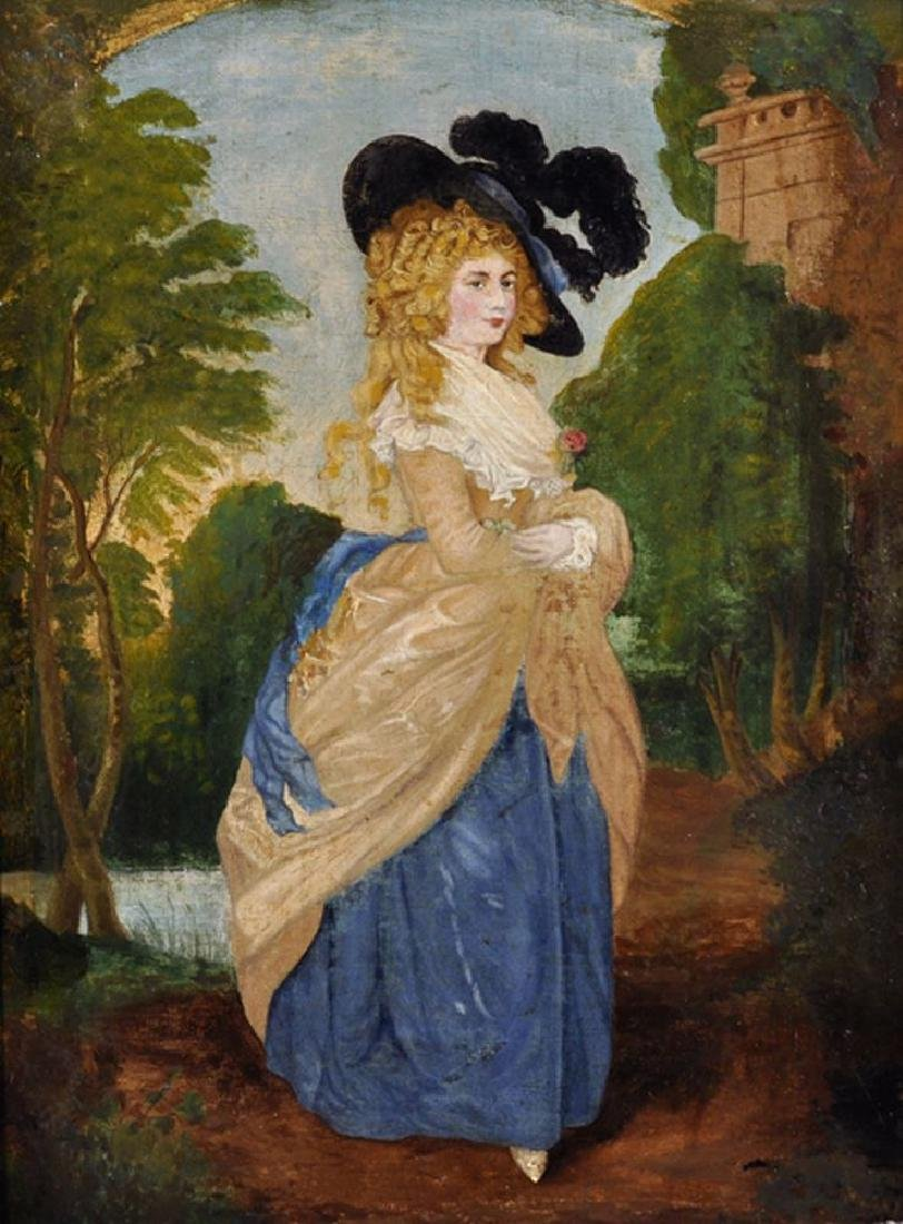 After Thomas Gainsborough (1727-1788) British. 'The