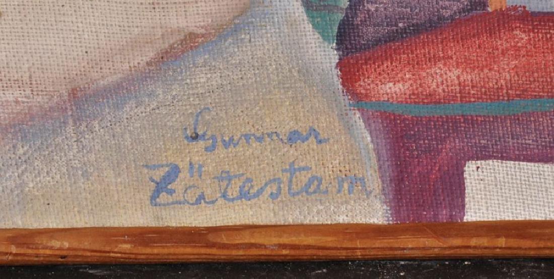 "Gunnar Zatestam (1943    ) Swedish. ""Sommarutsikt"", - 3"