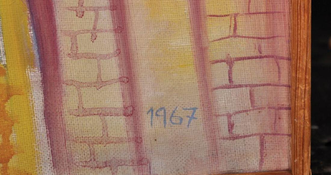 "Gunnar Zatestam (1943    ) Swedish. ""Sommarutsikt"", - 4"
