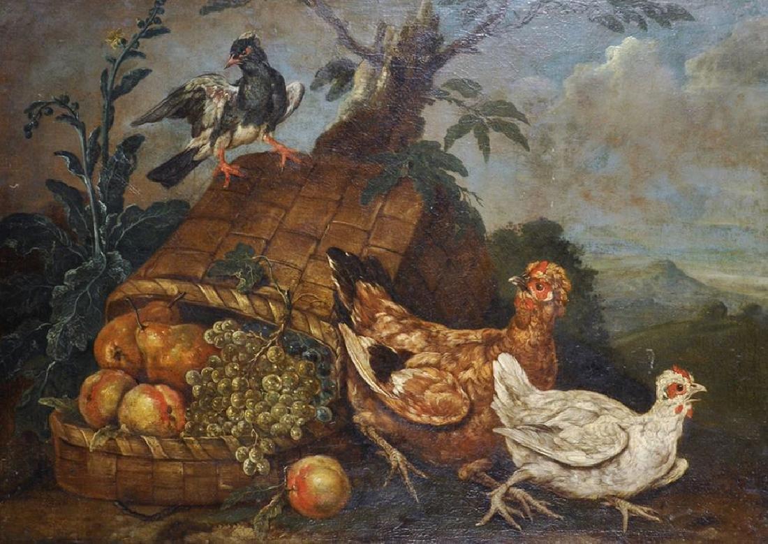 Giovanni Agostino Cassana (1658-1720) Italian. A Bird