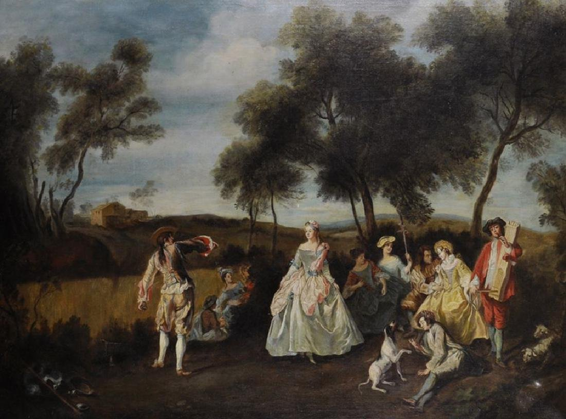Manner of Jean-Antoine Watteau (1684-1721) French. A