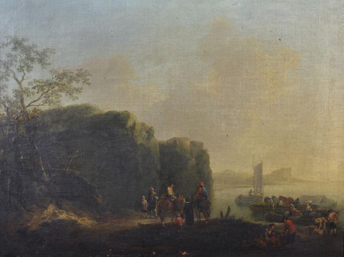 Johann Alexander Thiele (1685-1752) German. Figures on