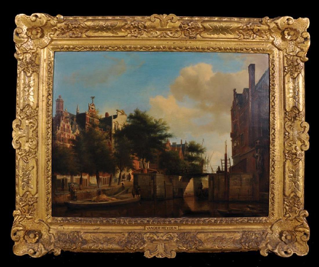 After Jan van der Heyden (1637-1712) Dutch, and Adriaen