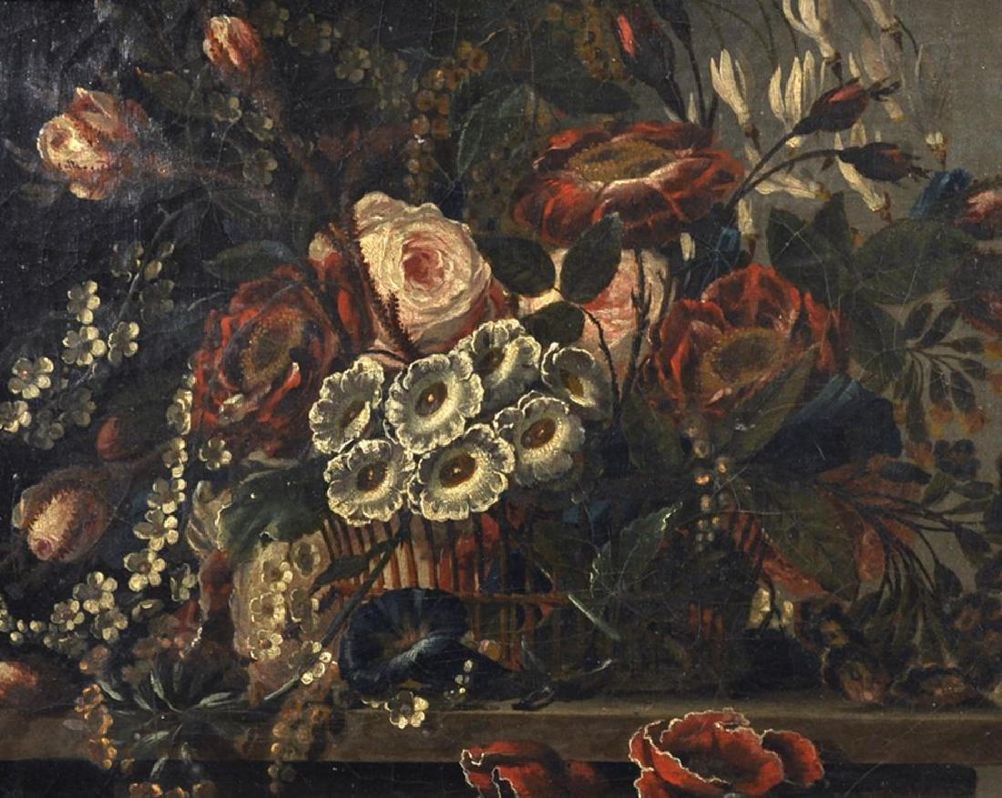 18th Century European School. Still Life of Flowers in
