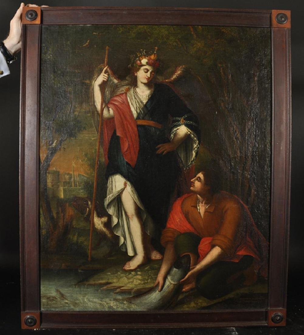 Gregorio Sanz (1763-1843) Spanish. Tobias and the - 2