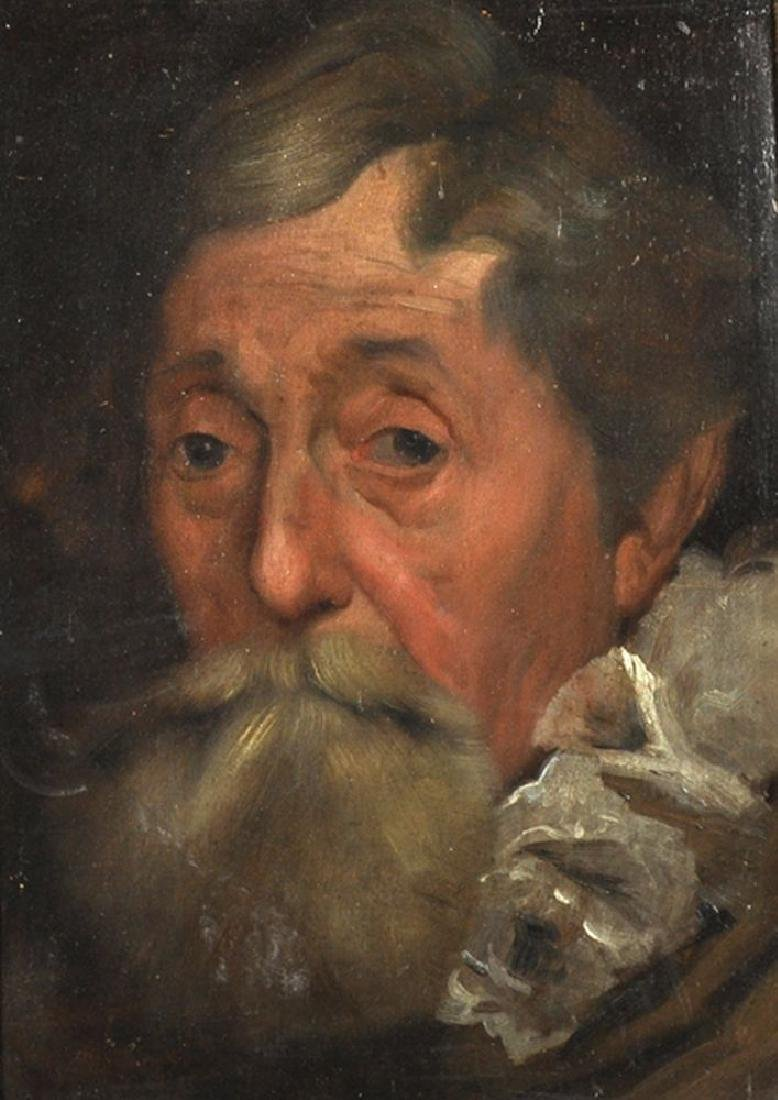 Manner of Anthony Van Dyck (1599-1641) Flemish.