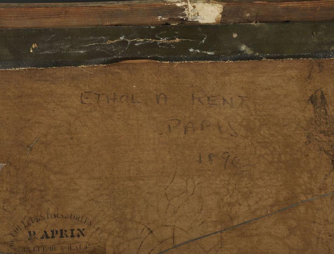 """19th Century English School. A Portrait of """"Ethol A - 3"""