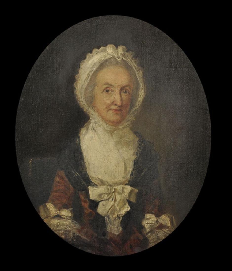 "18th Century English School. Portrait of ""Anne"