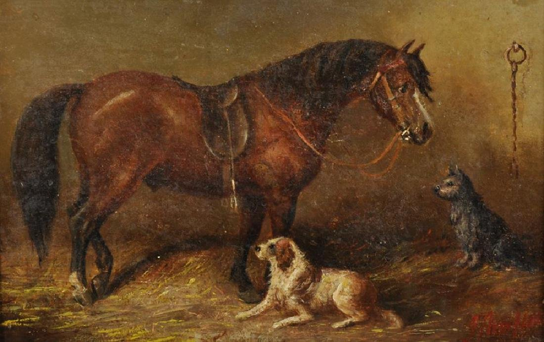 Attributed to George Armfield (1808-1893) British. A