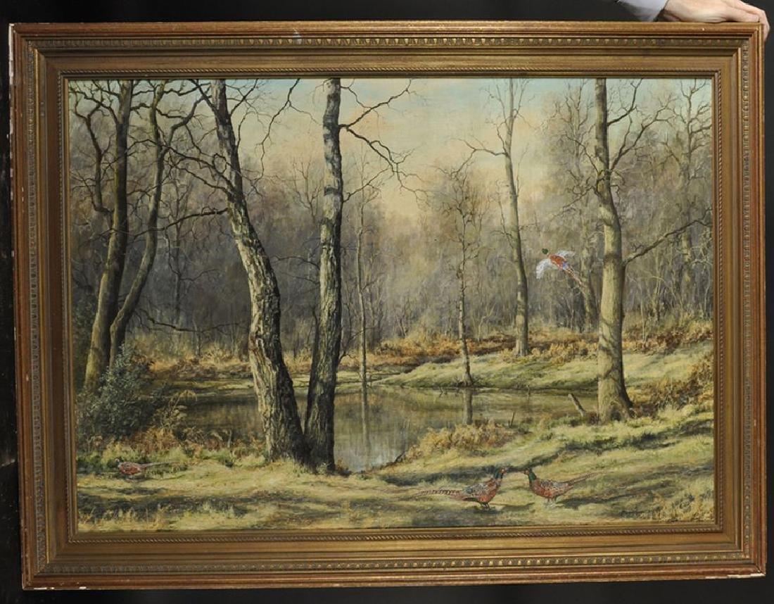 Mervyn Goode (1948    ) British. A Wooded River - 2