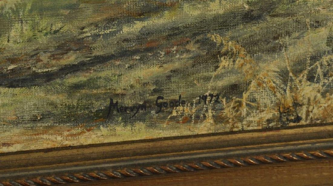 Mervyn Goode (1948    ) British. A Wooded River - 3
