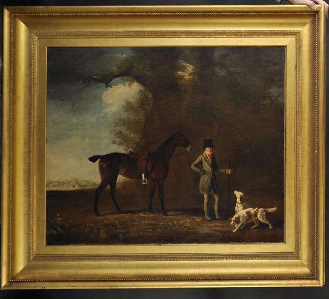John E Ferneley (1782-1860) British. Study of a Man in - 2