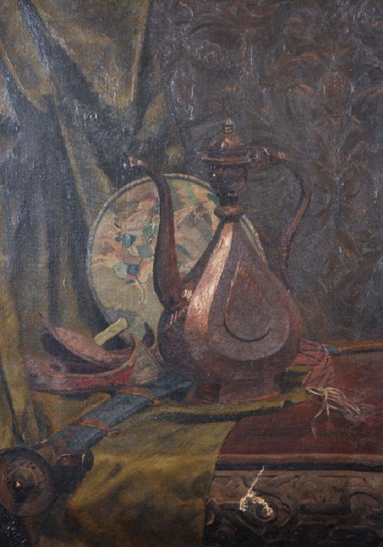 19th Century English School. Still Life with a Jug and