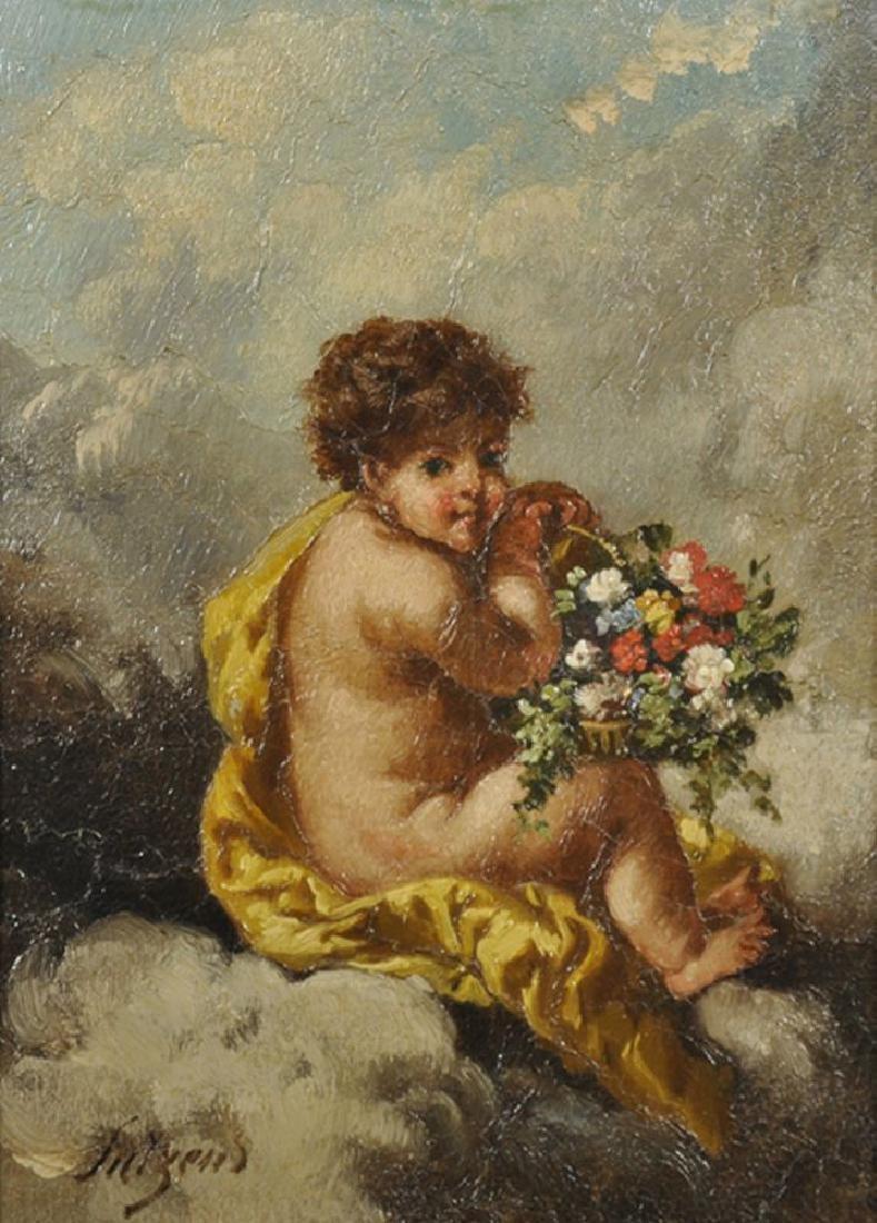 Charles Augustus H Lutyens (1829-1915) British. Putti