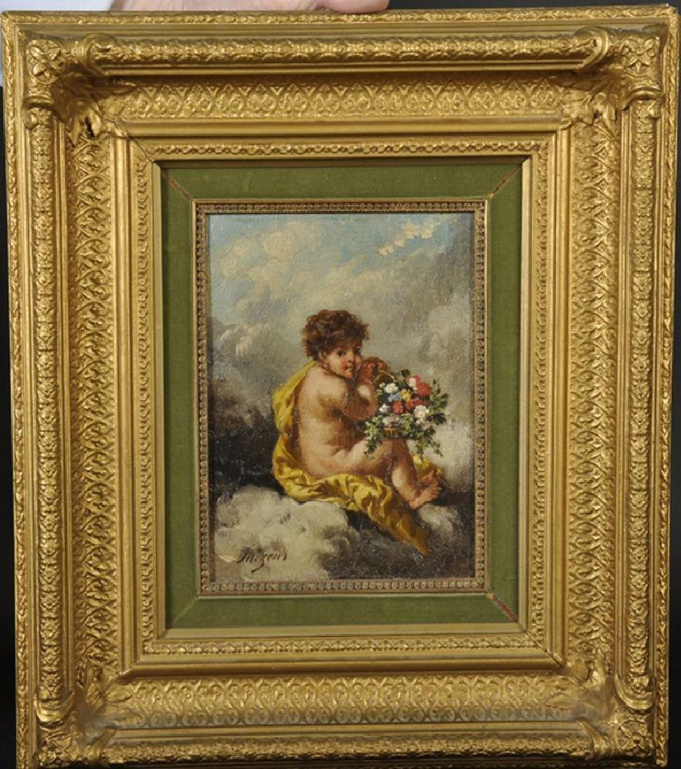Charles Augustus H Lutyens (1829-1915) British. Putti - 2
