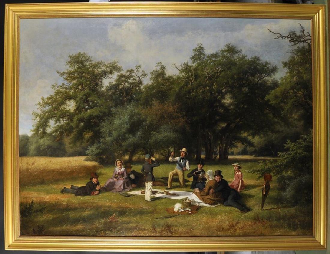 David Monies (1812-1894) Danish. 'The Picnic', A - 2